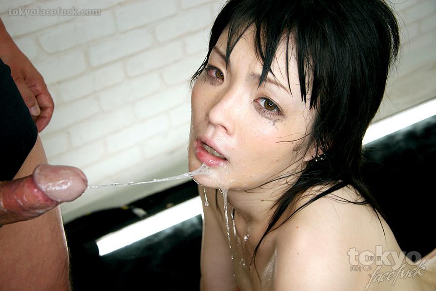 Cumshot to the Face for Yuu Tsuruno