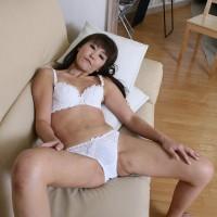 JadeLoves White Cotton MILF Panties from Japan