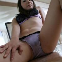 Japanese mature Lady Riho Has Cum-Soaked Her Panties
