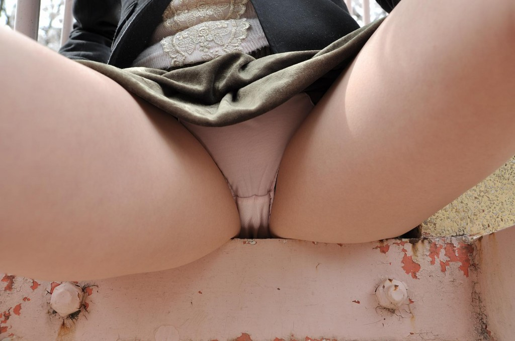 Japanese Teen Gives Us a Peek Under Her Skirt
