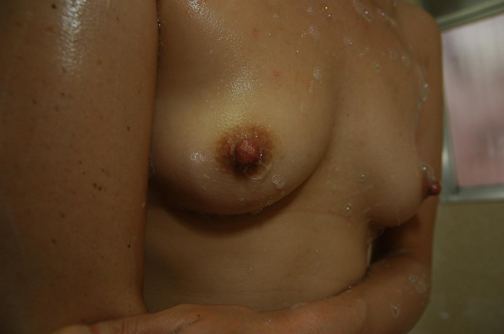 Wet Japanese nipples ready for sucking