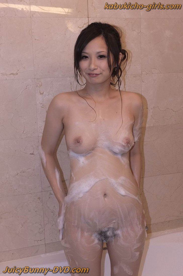 Yuki fondles her hot cans and arouses nooky 6