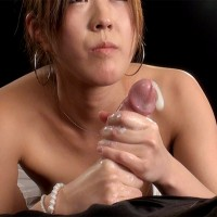 Mirei Momoka Gives a Warm and Gentle Tug Leading to Cock Exploding