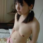 Suckable Nipples and Tits of Japanese 18 yo Teen Mamiko