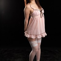 Miku Oguri in Sexy Lingerie Has Strong and Sexy Legs to Wrap Around You