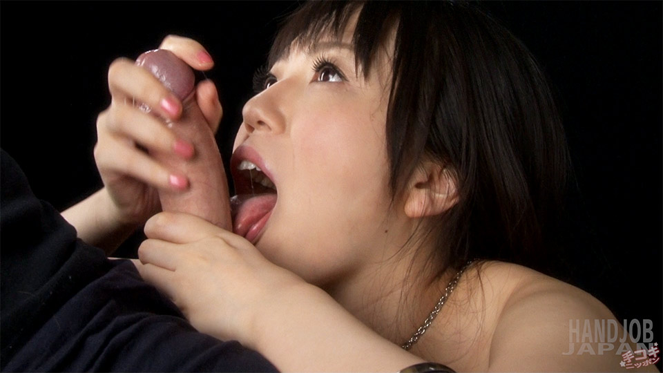 Hot Japanese model Yuma Miyazaki Pumps and Licks til gaijin Cock Squirts