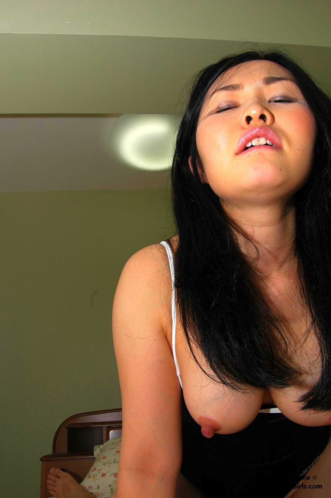 Hot Japanese Teen Megumi Shibata Shows Off Her Big Oppai and Sexy Nipples