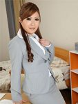 Super hot Asian teacher babe Sae showing off