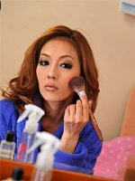 Hot Asian MILF Sally Yoshino loves posing